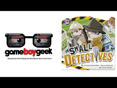 The Game Boy Geek Reviews Small Detectives