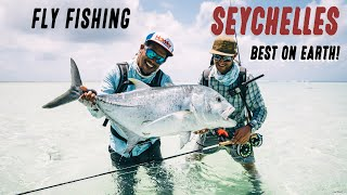 Fly Fishing Seychelles the Best on Earth