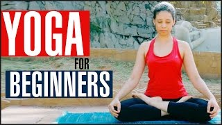 14 Basic YOGA POSES FOR BEGINNERS At Home by StyleCraze