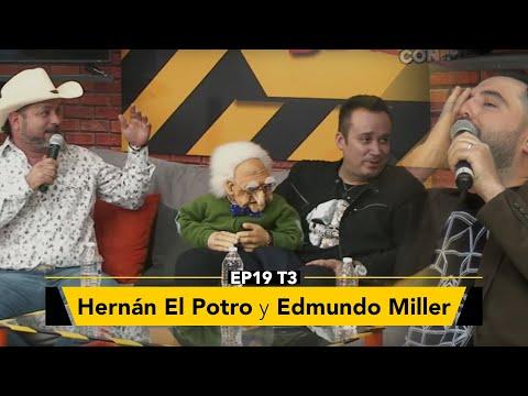 Hernán el Potro, Edmundo Miller y Tititito en Zona de Desmadre