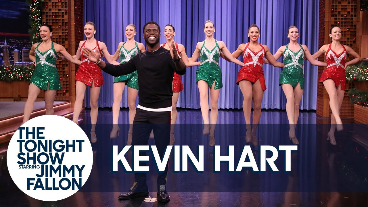 Kevin Hart Makes a Spectacular Tonight Show Entrance with Radio City Rockettes thumbnail