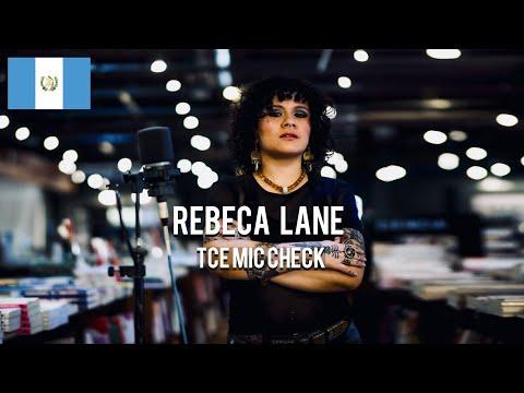 Rebeca Lane - Versos Tristes [ TCE Mic Check ]