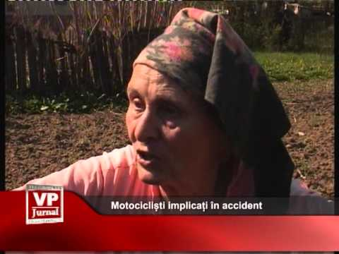 Motocicliști implicați în accident