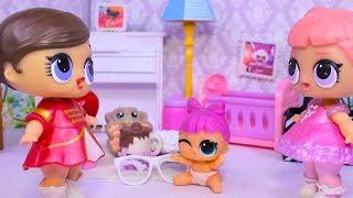 Куклы ЛОЛ ЛУЧШИЕ СЕСТРИЧКИ LOL Surprise Lil Sisters 3 series видео для детей Вероничка Lalaloopsy