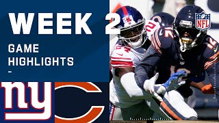 Giants vs. Bears Week 2 Highlights | NFL 2020