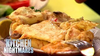 Lying Chef Can't Take Criticism And WALKS OUT | Kitchen Nightmares