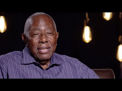 Baseball icon Hank Aaron discusses legacy