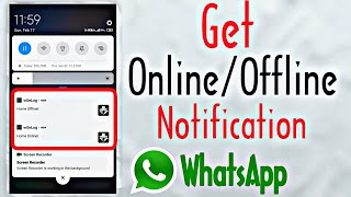 Whatsapp Online Notifier Apk
