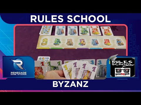 Learn How to Play Byzanz (Rules School) with the Game Boy Geek