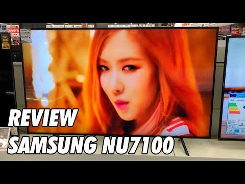 Review Samsung NU7105 - NU7125 - NU7100 - NU7175 Nueva Television 4K UHD HDR Smart TV 2018