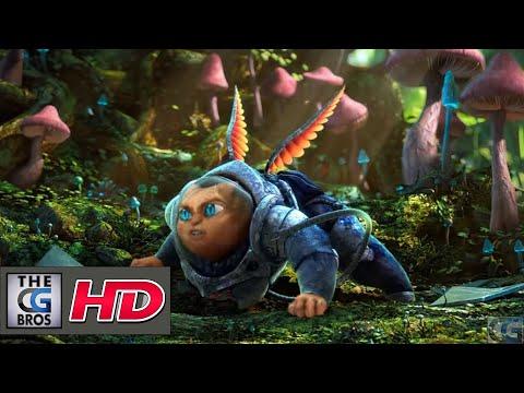 "CGI 3D Animated Short HD: ""Space Cat Hob"" – by Loïc Bramoullé"