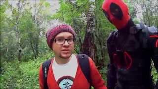 Deadpool на уборке