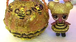 #Игрушки. ДЖАКУЗИ ДЛЯ КУКЛЫ ЛОЛ СВОИМИ РУКАМИ LOL DIY Custom Jacuzzi for Queen Bee Делаем #Поделки