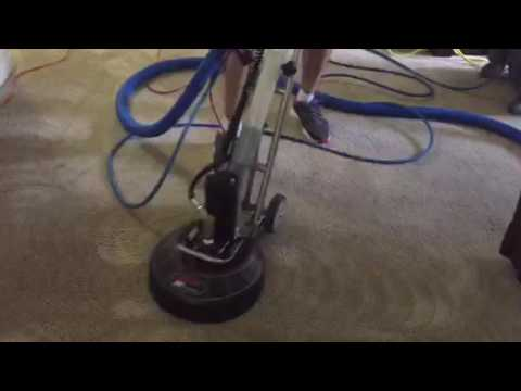 Rotovac 360I Restorative Carpet Cleaning