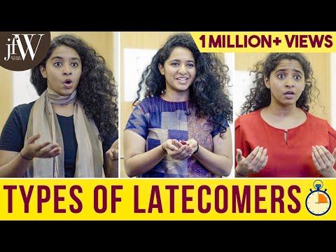 Types of Latecomers   RJ Saru   Being Saru   JFW Originals   English Subtitles