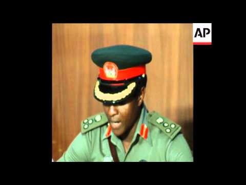 SYND 13 3 76 YAR'ADUA PRESS CONFERENCE ON COUP