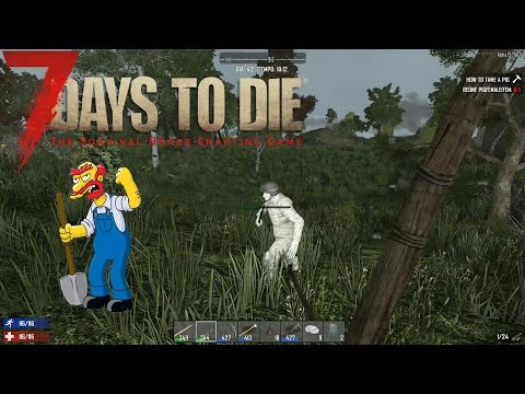 7 DAYS TO DIE  STARVATION MOD # 15 / CALIPER Y MAS COSAS - GAMEPLAY ESPAÑOL
