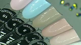 Пудровый гель лак нежно розовый от компании Интернет-магазин Маник - видео