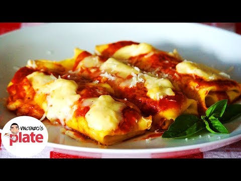 BEST CANNELLONI RECIPE | Ricotta Cheese and Spinach Cannelloni Pasta | Veg Italian Recipes