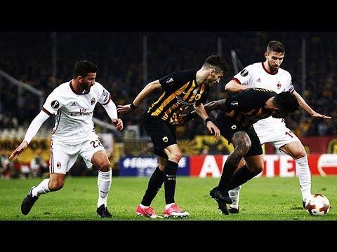 AEK Athens 0-0 AC Milan | UEFA Europa League | REVIEW