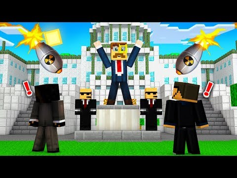 BECOMING the PRESIDENT on Crazy Craft!