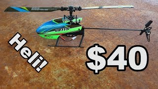 FAST Beginner Heli - WLtoys V911S Helicopter - TheRcSaylors