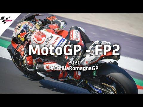 MotoGP ミサノサーキットで行われるエミリア・ロマーニャGP。MotoGPのフリープラクティス2のハイライト動画