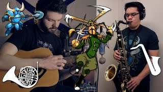 Shovel Knight: High Above The Land - Acoustic Cover || Ryan Lafford (feat.insaneintherain)