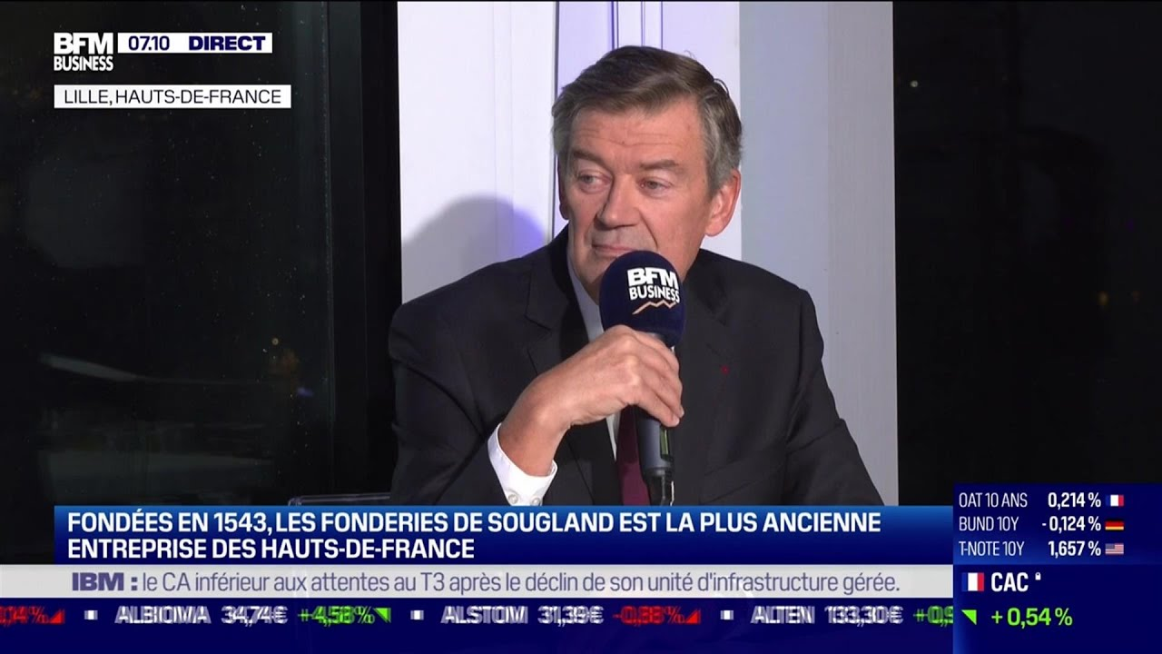 Quels sont les secteurs industriels qui portent les Hauts-de-France ?
