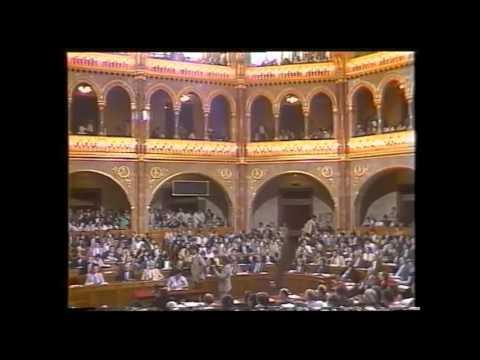 Antall József mondatai miniszterelnökké választásakor letöltés