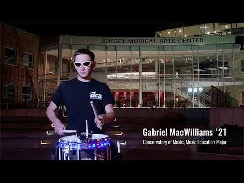 World Champion Marches to the Beat of his own Drum