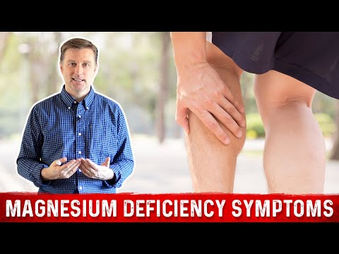Video The Top Symptoms of a Magnesium Deficiency