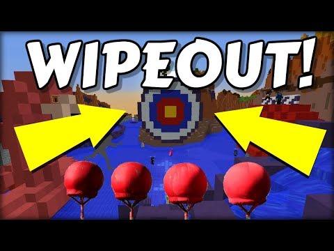 NEJVÍC BRUTÁLNÍ PÁDY LIDÍ ! WIPEOUT v Minecraftu !