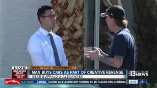 Man uses junk cars as revenge on neighbors