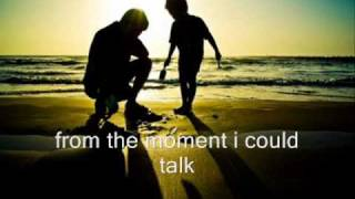 Father and Son by Ronan Keating w/ lyrics