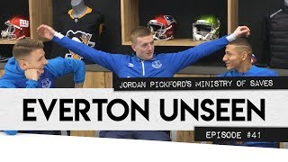 JORDAN PICKFORD'S MINISTRY OF SAVES! | EVERTON UNSEEN #41