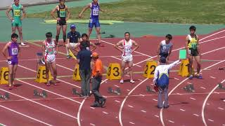 H30千葉県記録会男子100m1組