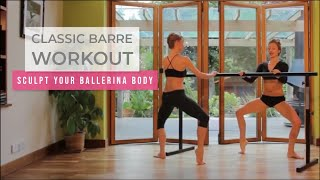 Sleek 15min body sculpting barre workout by Sleek Technique