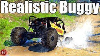 SpinTires MudRunner: NEW Realistic Ultra 4 Buggy! SID is BACK!!