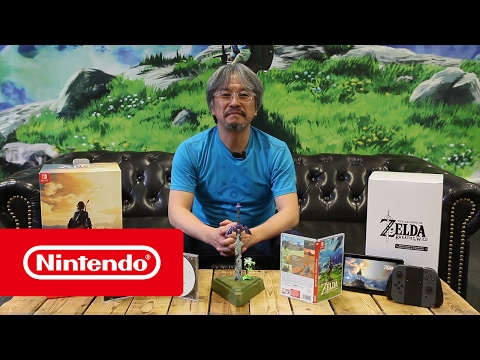 Unboxing de la Edición Limitada de Breath of the Wild