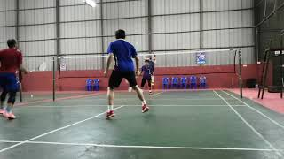 preview picture of video 'Badminton - Merapok Lawas 2'