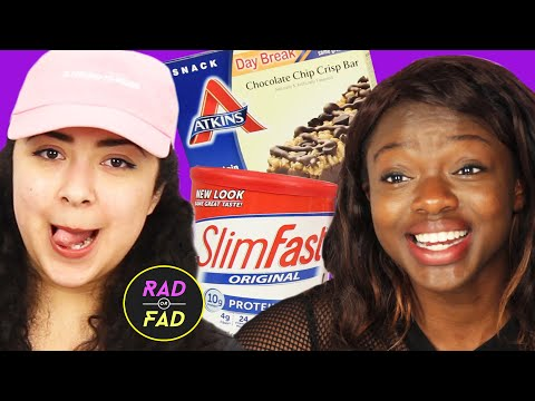 Friends Try The Atkins & Slimfast Diets For A Week