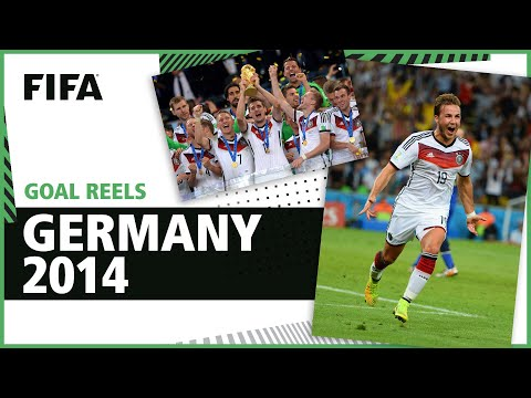 All of Germany's 2014 World Cup Goals   Gotze Klose Muller & more!