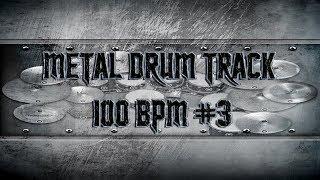 Groovy Metal Drum Track 100 BPM | Remix (HQ,HD)
