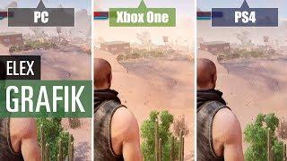 Elex PS4 vs. PC vs. Xbox One - Graphic comparison / Grafikvergleich