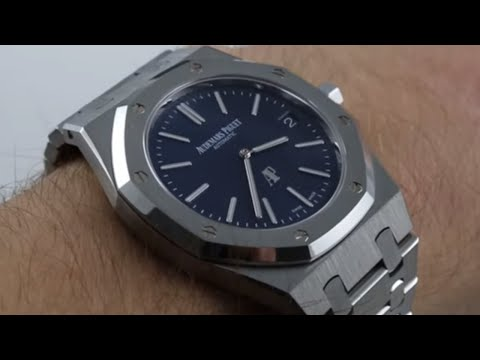 Audemars Piguet Royal Oak Ultra Thin Luxury Watch Review