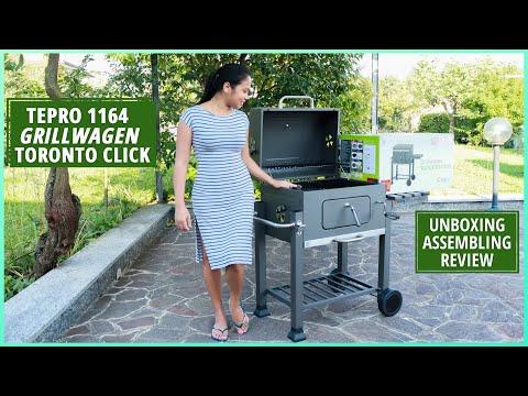 TEPRO GRILLWAGEN TORONTO CLICK   Tepro Trolley Grill   UNBOXING, ASSEMBLING, REVIEW   Jennel Letizia