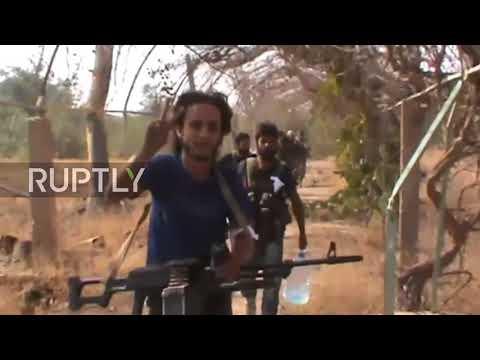 Syria: Syrian Army battles IS in Hwijt Sakir neighbourhood of Deir ez-Zor *EXCLUSIVE*