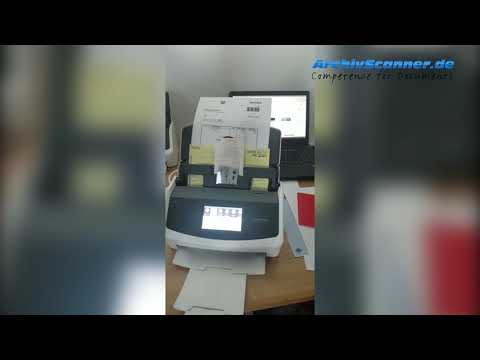 Fujitsu ScanSnap iX1500 Scanner Preview