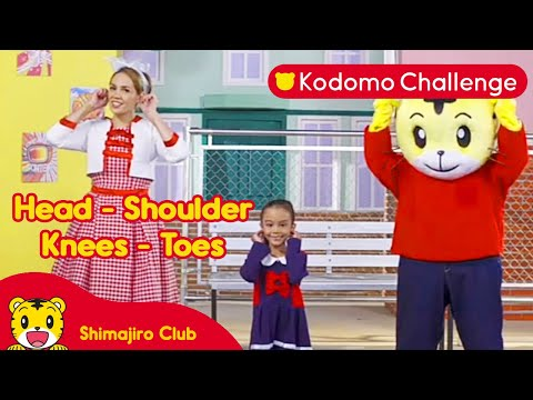 Head, Shoulder, Knees,  and Toes